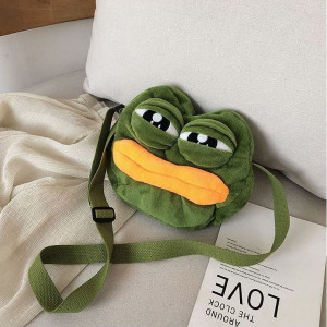 슬픈개구리 크로스백